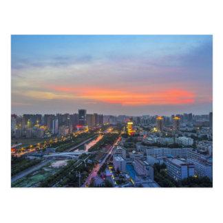 Zhengzhou, China Postkarte