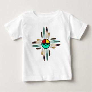 Zia-Sonnengott mit Federn Baby T-shirt
