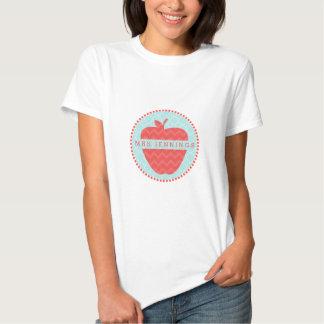 Zickzack Apple Quatrefoil personifizieren Hemd