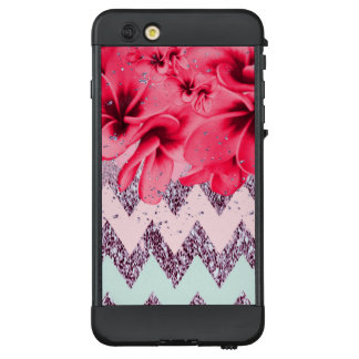 Zickzack Blüten II LifeProof NÜÜD iPhone 6 Plus Hülle