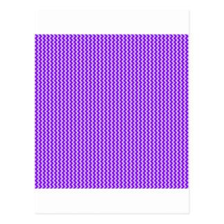Zickzack - Distel und Veilchen Postkarte