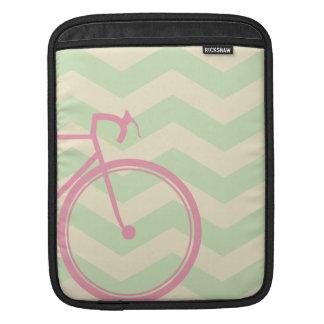 Zickzack Fahrrad-Traum Sleeve Für iPads