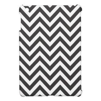 Zickzack-gestreiftes Muster Zazzle Schablonen-Hint Hülle Für iPad Mini