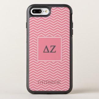 Zickzack Muster des Deltazeta-| OtterBox Symmetry iPhone 8 Plus/7 Plus Hülle