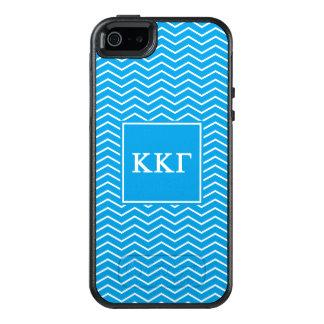 Zickzack Muster des Kappa-Kappa-Gamma-| OtterBox iPhone 5/5s/SE Hülle
