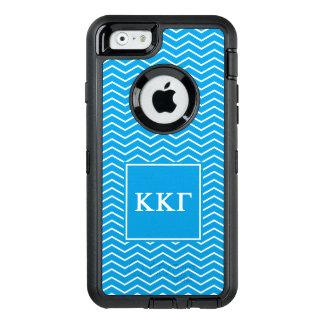 Zickzack Muster des Kappa-Kappa-Gamma-  OtterBox iPhone 6/6s Hülle
