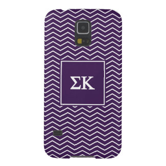 Zickzack Muster des Sigma-Kappa-| Samsung S5 Hülle