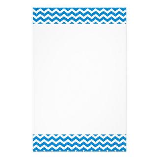 Zickzack Muster-Entwurfs-Briefpapier Individuelles Druckpapier