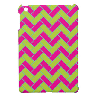 Zickzack Muster iPad Mini Hülle