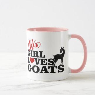 ZIEGE   diese Mädchen-Liebe-Ziegen-hübsche Tasse