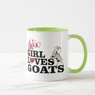 ZIEGE   diese Mädchen-Liebe-Ziegen-Playful Ziege Tasse