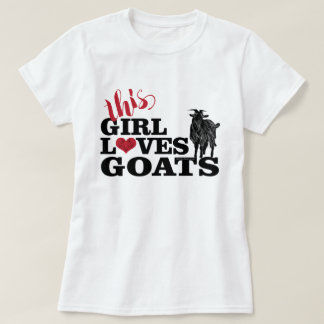 ZIEGE | dieser Mädchen-Liebe-Ziegen-Molkereidollar T-Shirt