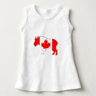 Ziege Kanada Kleid