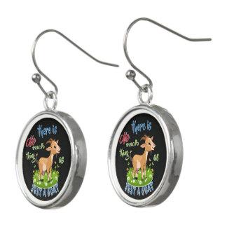 ZIEGE Liebhaber | gerade eine Ziege GetYerGoat™ Ohrringe