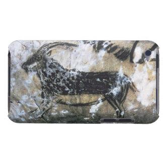Ziege oder Gämse, Felsenmalerei im schwarzen Raum, iPod Touch Cover