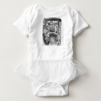 Ziege Shopkeeperand Alice Baby Strampler