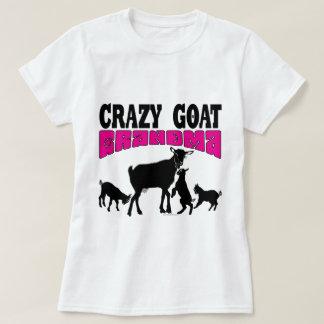 ZIEGE | verrücktes Ziegen-Großmutter-Rosa GYG T-Shirt