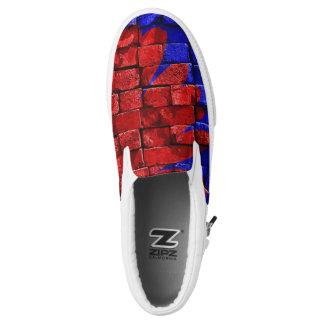 Ziegelstein-Blume Slip-On Sneaker