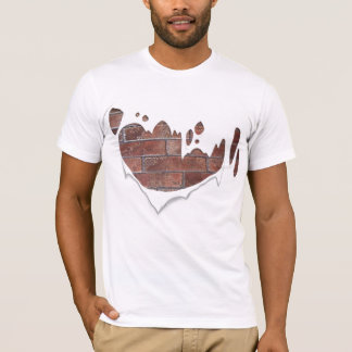 Ziegelstein-Shirt T-Shirt