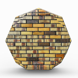 Ziegelstein-Wand-abstrakte antike Kram-Art-Mode-Ku Acryl Auszeichnung