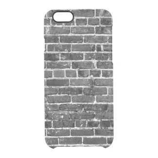 Ziegelstein-Wand-cooles Beschaffenheits-Muster Durchsichtige iPhone 6/6S Hülle