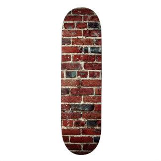 Ziegelsteine - cooler Spaß einzigartig Individuelles Skateboard