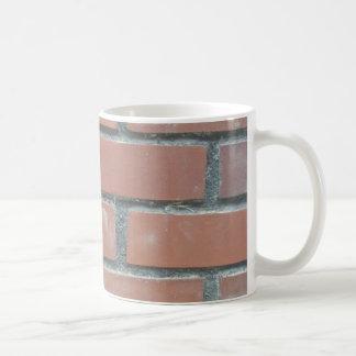 Ziegelsteine Kaffeetasse