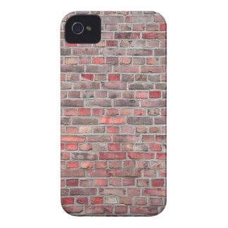 Ziegelsteinwandhintergrund - roter Vintager Stein Case-Mate iPhone 4 Hülle