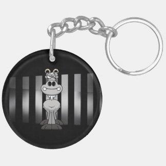 ZIEGEN-Bar Keychain (doppelseitig) Schlüsselanhänger