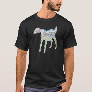 Ziegen-Bauernhof-Lebensraum T-Shirt