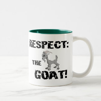 Ziegen-Haustier-Vieh-Respekt-Ziegen-Ehemann-Vati Teetasse