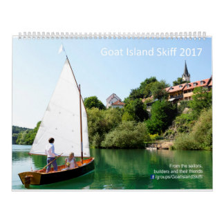 Ziegen-Inselskiff-Kalender 2017 - weltweit Wandkalender