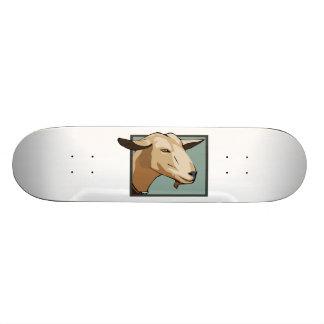 Ziegen-Kopf Bedrucktes Skateboard