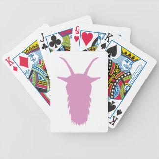 Ziegen-Kopf Bicycle Spielkarten