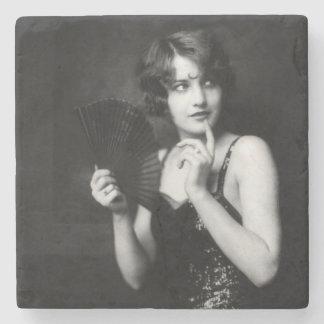 Ziegfeld Unsinnigkeits-Mädchen Steinuntersetzer