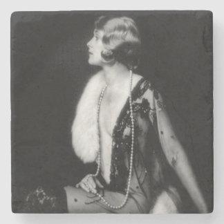 Ziegfeld Unsinnigkeits-Revuetänzerin Steinuntersetzer