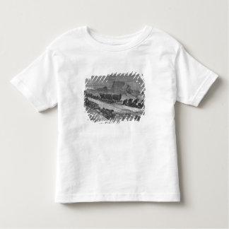 Ziehen der Schlitten durch das Packeis T-Shirts