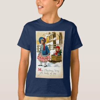Ziehen des Schlittens T-Shirt
