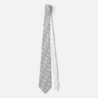 Ziehen Sie Krawatte, empfangen Sie Speck Bedruckte Krawatte