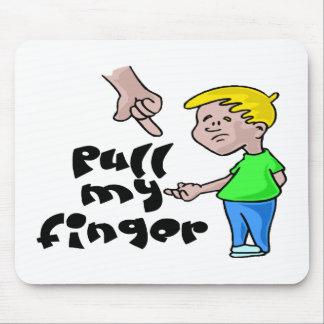 Ziehen Sie meinen Finger Mousepad
