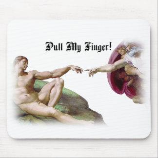 Ziehen Sie meinen Finger - Mousepad
