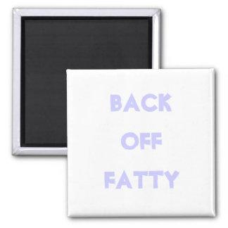 Ziehen Sie sich fetthaltigen Magneten zurück Quadratischer Magnet