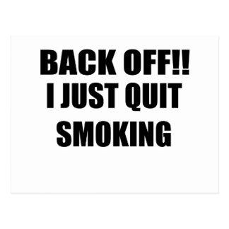 ZIEHEN Sie sich MICH BEENDIGEN GERADE SMOKING.png Postkarte