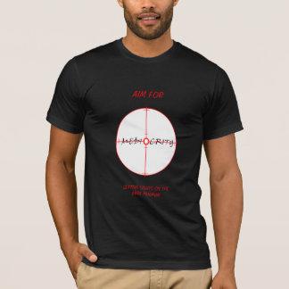 Ziel für Mittelmäßigkeit T-Shirt