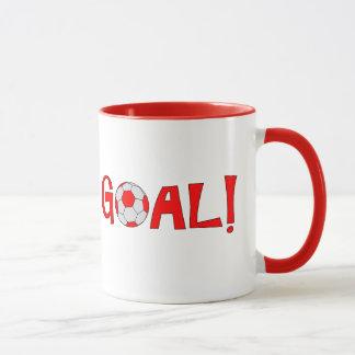 ZIEL - Fußball-Kaffee-Tasse Tasse