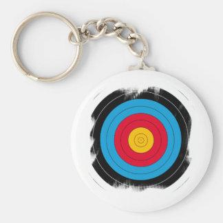 Ziel-Gesicht Schlüsselanhänger