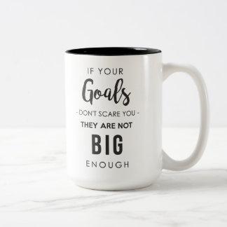 Ziel-große genug Tasse