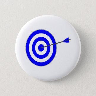 Zielscheibe mit Pfeil Runder Button 5,1 Cm