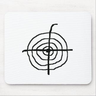 Zielscheibe Mousepad