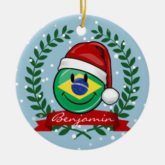 Ziemlich lächelnde brasilianische keramik ornament